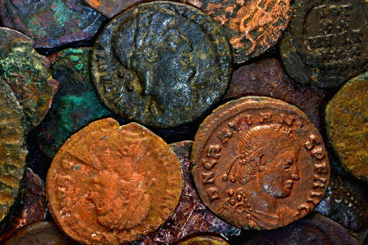 Roman copper coins